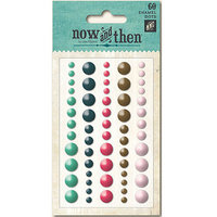 My Minds Eye NT1074 Now & Then Mildred Adhesive Enamel Dots 60-Pkg-With You