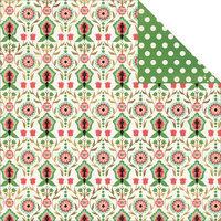 My Minds Eye Jubilee Mint Julep Double-Sided Cardstock 12