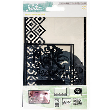 My Minds Eye Jubilee Wild Berry Transparancey Decorative Frames-Wonder