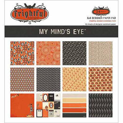 My Minds Eye Paper Pad 6X6 24/Pkg-Jubilee Sherbet