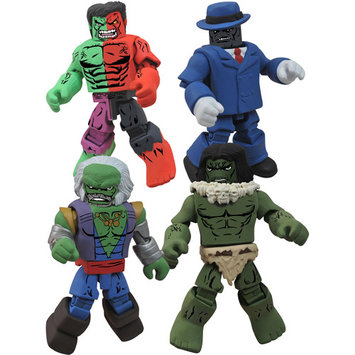 Diamond Select Marvel Incredible Hulk Through the Ages Minimates Set