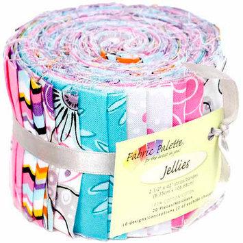 Fabric Editions NOTM141757 - Fabric Palette Jellies 100% Cotton 2.5