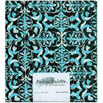 Fabric Editions 148001 Novelty & Quilt Fabric Pre-Cut 100% Cotton 21 in. Wide .25yd-Blacks