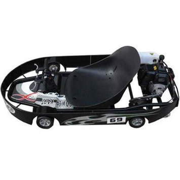 Big Toys SX-10 BlackSilver Power Kart 49cc Black/Silver