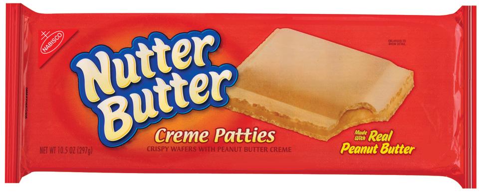 Nabisco Nutter Butter Creme Patties - Peanut Butter