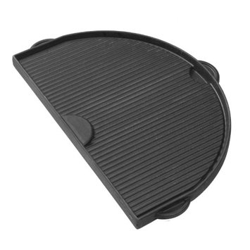 Primo Half Moon Cast Iron Griddle For Oval Xl