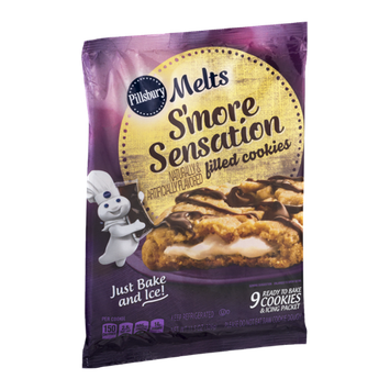 Pillsbury Melts S'More Sensation Filled Cookies - 9 CT