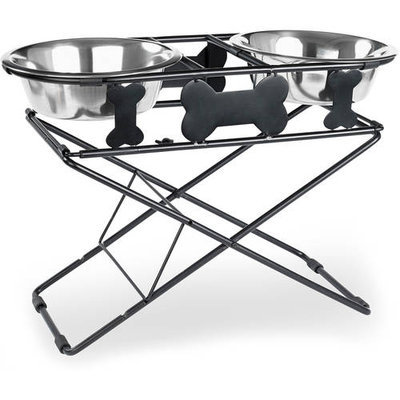 Buddy's Line Multi Level Adjustable Diner 3 Tiers Black Wrought Iron