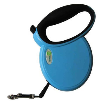 Iconic Pet 15804 Small Retractable Dog Leash Without Side Cover Plates - Blue