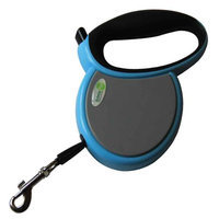 Iconic Pet 15806 Small Retractable Dog Leash With Side Cover Plates - Blue