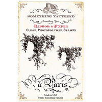 Something Tattered ST01 918 Something Tattered Clear Stamps 4 in. X4 in. -Cards Bunting