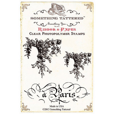 Something Tattered ST01 635 Something Tattered Clear Stamps 4 in. X4 in. -Decembre-December