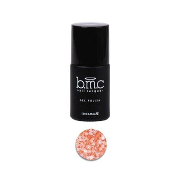 BMC Matte Neon Orange Glitter Gel Nail Polish - Fringe Benefits