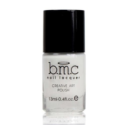 Bundle Monster BMC Nail Stamping Lacquers-Creative Art Polish Collection, Color: Angelic White