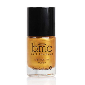 Bundle Monster BMC Nail Stamping Lacquers-Creative Art Polish Collection, Color: Liquid Gold
