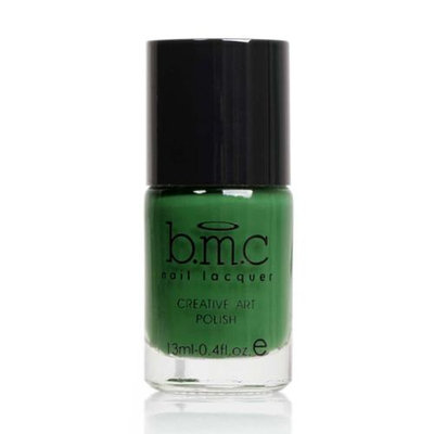 Bundle Monster BMC Nail Stamping Lacquers-Creative Art Polish Collection, Color: Lucky Green