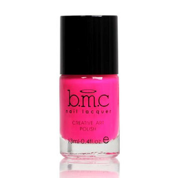 Bundle Monster BMC Nail Stamping Lacquers-Creative Art Polish Collection, Color: Electric Pink