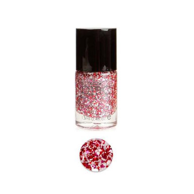 Bundle Monster BMC Multicolor Mix Shapes Finger Nail Art Glitter Polish Lacquer-Cherries on Top