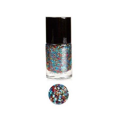 Bundle Monster BMC Multicolor Mix Shapes Finger Nail Art Glitter Polish Lacquer-Sin City