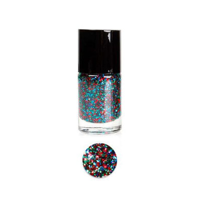 Bundle Monster BMC Multicolor Mix Shapes Finger Nail Art Glitter Polish Lacquer-Girls Night Out