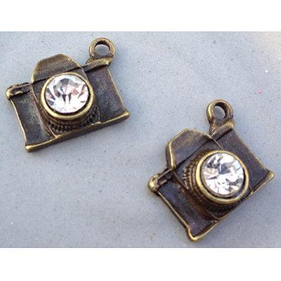 Marion Smith Designs Junque & Gems Metal Embellishments 2/Pkg-Camera Charms