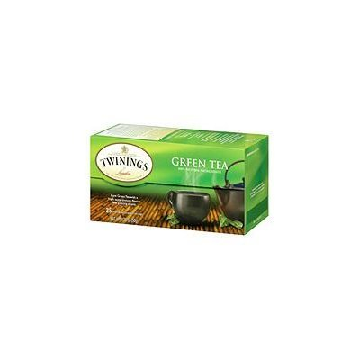 Twinings of London Green Tea Bags (6 Boxes, 25 Bags)