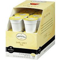 Twinings of London Earl Grey Tea K-Cups, Single Serve (24 ct, 2 pk.)