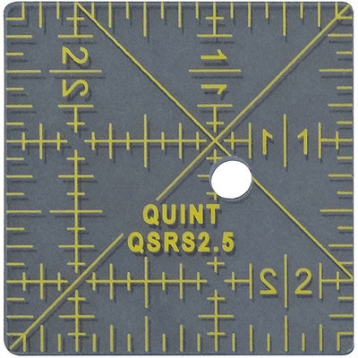Quint Measuring Systems Reverse-A-Rule Standard Series-2.5inX2.5in