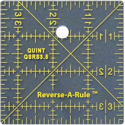 Quint Measuring Systems Reverse-A-Rule Standard Series-3.5inX3.5in