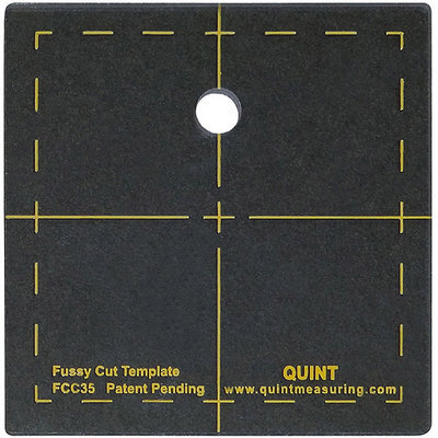 Quint Measuring Systems Fussy Cut Series Cutting Squares-3.5inX3.5in
