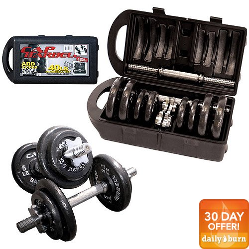 CAP Barbell 40 Adjustable Dumbbell Set