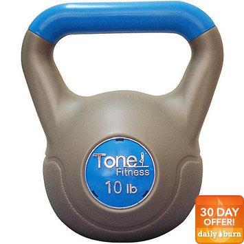 Cap Barbell SDKC-TN-010 Tone Fitness 10 lb Vinyl Kettlebell
