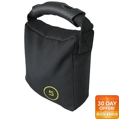 CAP Barbell 10 lb Weighted Bag, Black