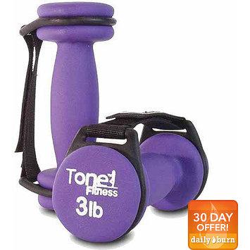 Tone Fitness Pair of 6 lb Walking Dumbbells