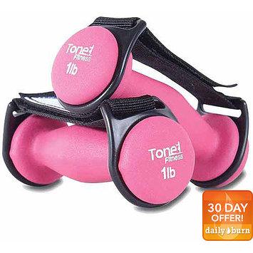 Tone Fitness Pair of 2 lb Walking Dumbbells