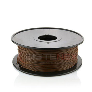 Distenex 3D Printer PLA Filament 1.75mm 1kg Spool Brown