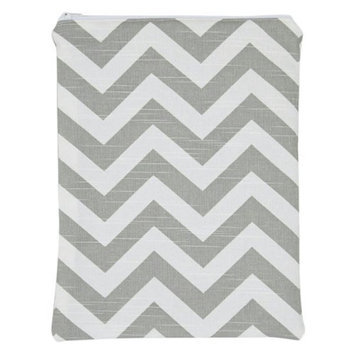 Brownie Gifts Gray Chevron Wet Bag