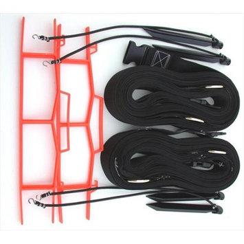 Home Court 19NABKS Black 2-inch Non-adjustable Web Courtlines