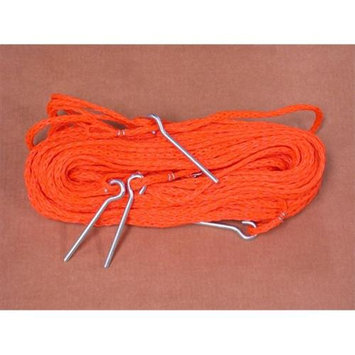 Home Court M8M25O 8 Meter Orange .25-inch rope Non-adjustable Grass Courtlines