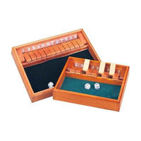 CHH Games Shut the Box Game - Wooden