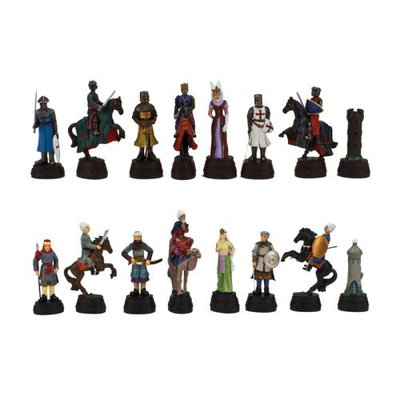 Chh Quality Product Inc Crusades Marble Resin Chessmen
