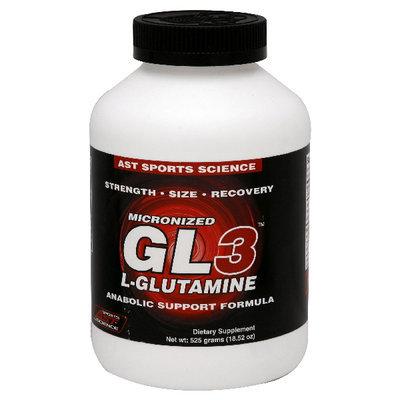 AST Sports Science - Micronized GL3 L-Glutamine Powder - 525 Grams