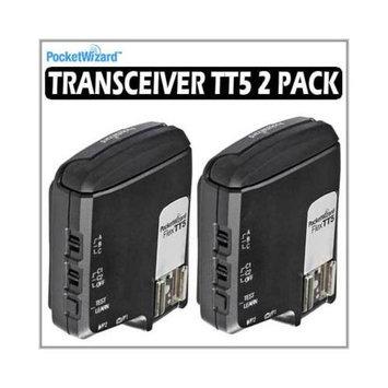 Pocket Wizard Flex Transceiver TT5 2-pc Kit with 2 Hildozine 3001 Transceiver Caddy - 801150