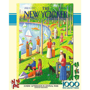 Tnt Media Group Sunday Afternoon in Central Park 1000 Piece Jigsaw Puzzle