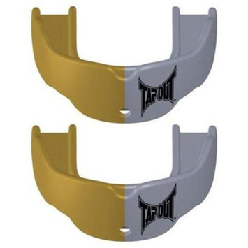 TapouT Mouth Guard Gold/Silver, Adult