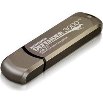 Kanguru Solutions Kanguru Defender 3000 - FIPS 140-2 Level 3 - USB 3.0 Secure Flash Drive