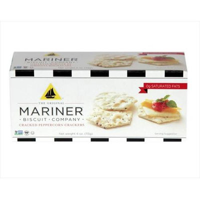 Mariner The Original Mariner Biscuit Company Cracked Peppercorn -12x4 Oz