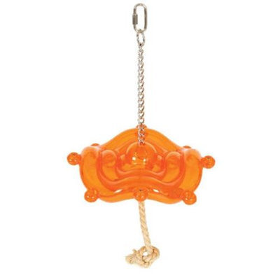 ture's Instinct Natures Instinct Silly Saucer Small 3 1/8in x 3 1/8in x 1in Bird Toy