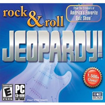 Sony Rock and Roll Jeopardy - Windows