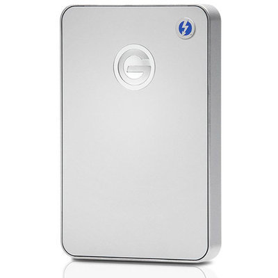 Gtechnology G-Technology G-Drive Mobile 1TB Silver Portable Hard Drive